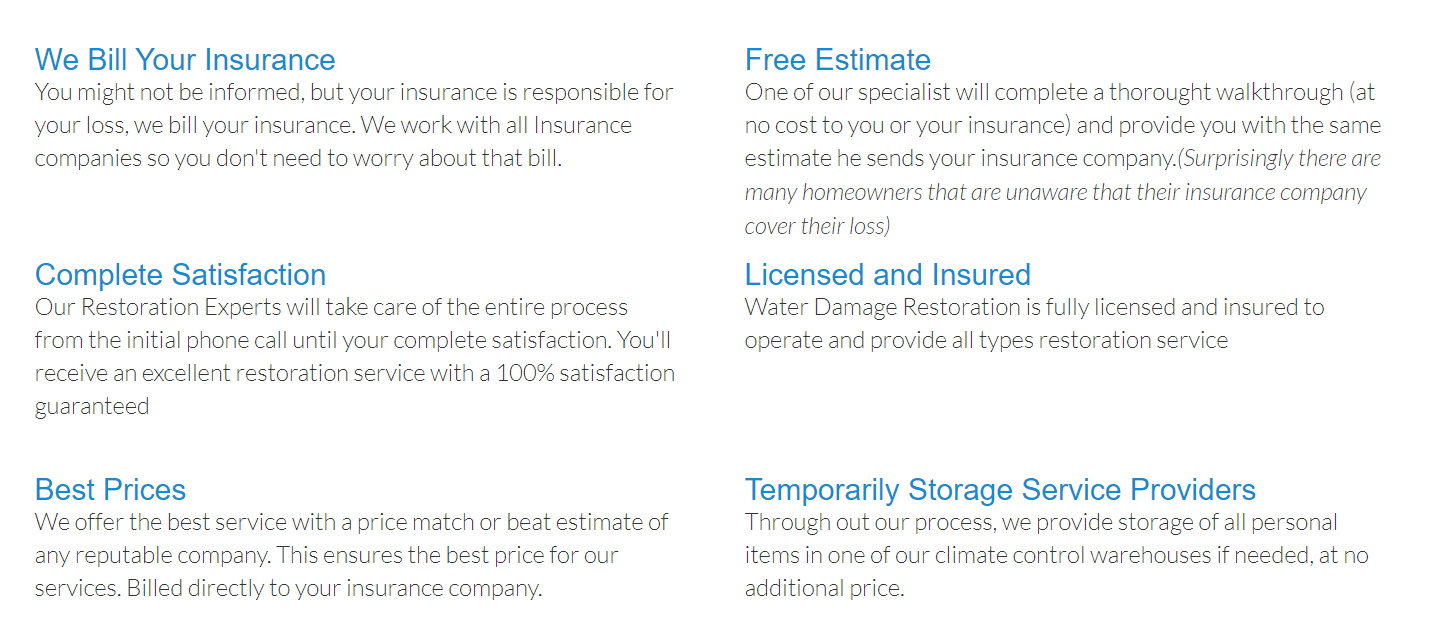 water damage restoration miami