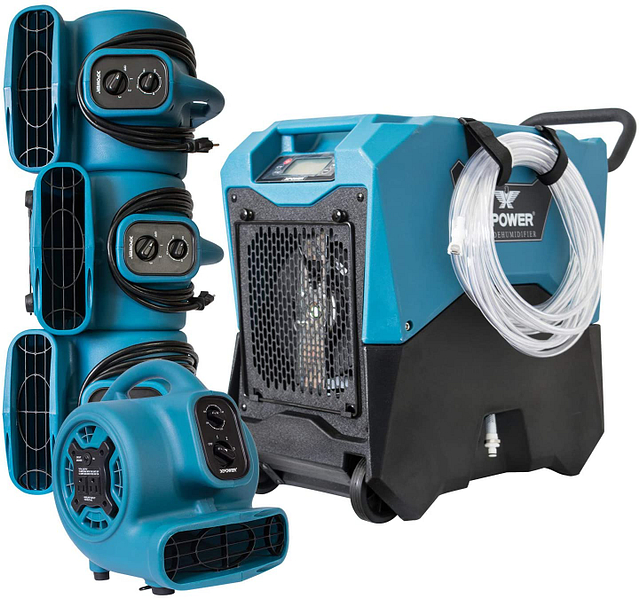 xpower complete package commercial dehumidifier